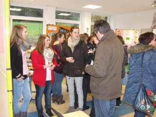 Die verschiedenen Bildungsgänge freuten sich über viele Besucher. Foto: SMMP/Hofbauer
