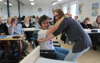Der Beruf des Heilerziehungspflegers kann viel Freude bereiten. Foto: SMMP/Neuhaus